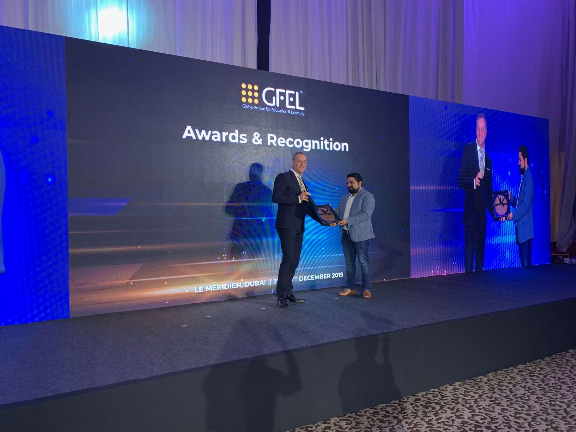 Klick Data awarded GFEL Top 50 Organizations in Education Award