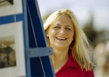 Citat- Tina Thörner gillar suverän utbildning med klickdata
